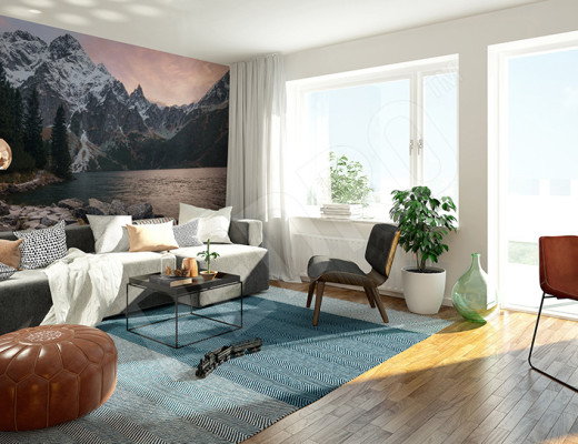 Fototapeta górski krajobraz do salonu