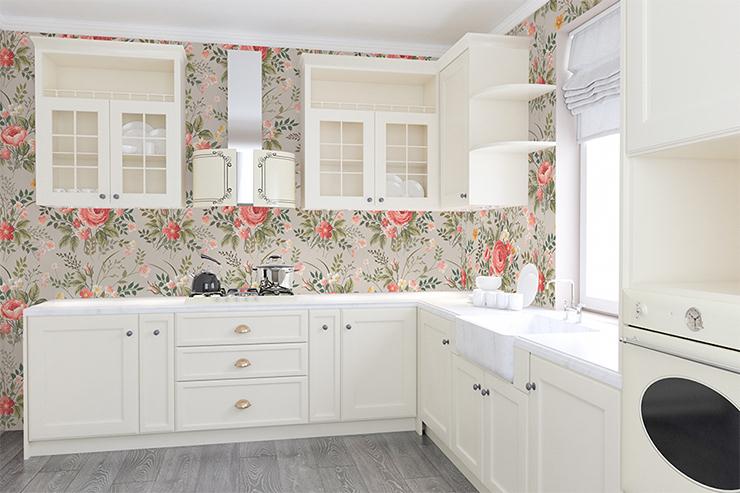Fototapeta kwiaty do kuchni