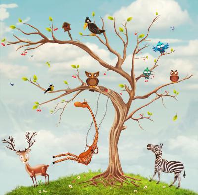 Drzewko ze zwierzątkami