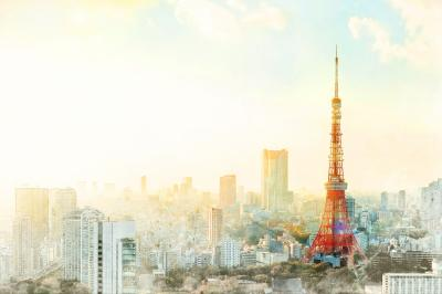 Asia business concept for real estate tokyo tower