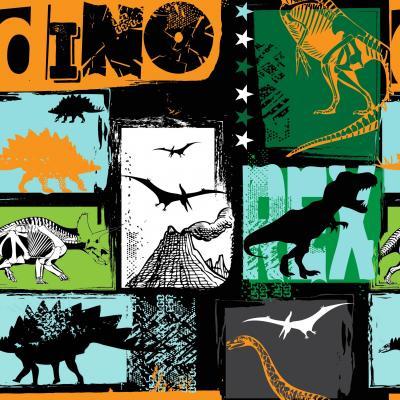 Fototapeta Original design with t-rex dinosaur