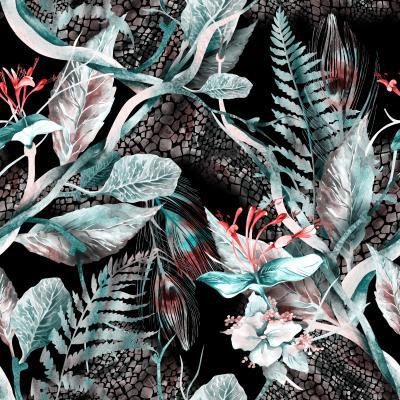 Fototapeta Floral Seamless Pattern