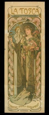 Obraz Alfons Mucha - La Tosca