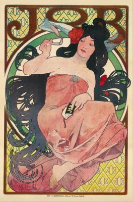 Obraz Alfons Mucha - Praca