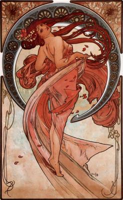 Obraz Alfons Mucha - Taniec