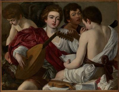 Obraz Caravaggio - Muzykanci