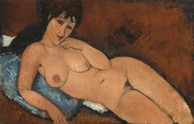 Obraz Amedeo Modigliani - Akt leżący