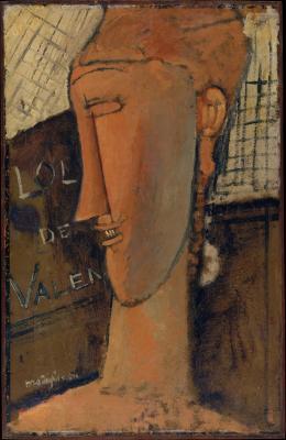 Obraz Amedeo Modigliani - Lola de Valence