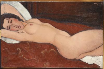 Obraz Amedeo Modigliani - Nu couché