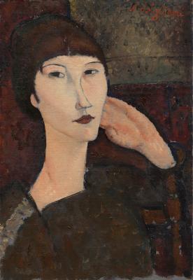 Obraz Amedeo Modigliani - Portret Adrienne