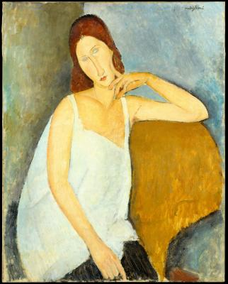 Obraz Amedeo Modigliani - Portret Jeanne Hébuterne