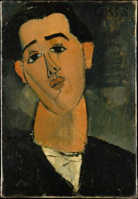 Obraz Amedeo Modigliani - Portret Juana Gris