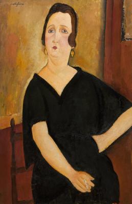 Obraz Amedeo Modigliani - Portret Madame Amédée