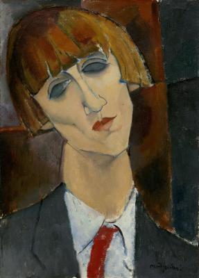 Obraz Amedeo Modigliani - Portret Madame Kisling