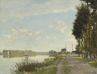 Obraz Claude Monet - Argenteuil