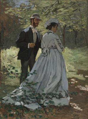 Obraz Claude Monet - Bazille i Camille