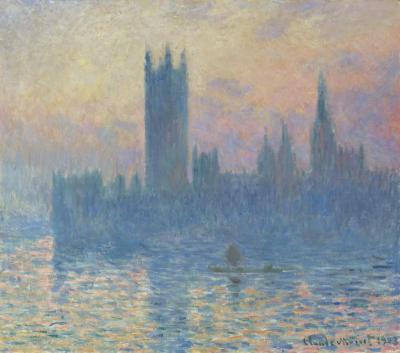 Obraz Claude Monet - Budynek Parlamentu w Londynie