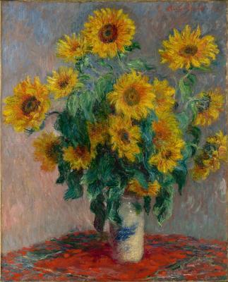 Obraz Claude Monet - Bukiet słoneczników