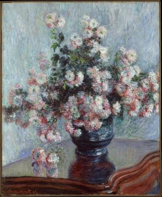 Obraz Claude Monet - Chryzantemy
