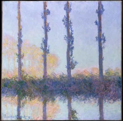 Obraz Claude Monet - Cztery drzewa