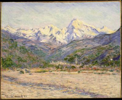 Obraz Claude Monet - Dolina Nervii