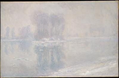 Obraz Claude Monet - Dryfujące kry