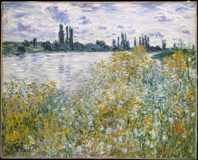 Obraz Claude Monet - Île aux Fleurs near Vétheuil