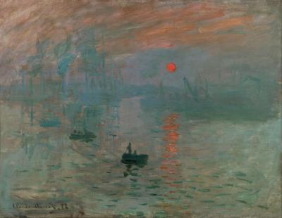 Obraz Claude Monet - Impresja. Wschód słońca