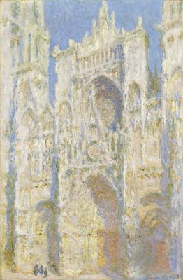 Obraz Claude Monet - Katedra w Rouen II