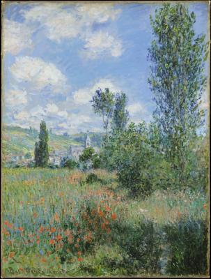 Obraz Claude Monet - Krajobraz Vétheuil