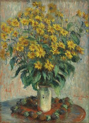 Obraz Claude Monet - Kwiaty Jerozolimy