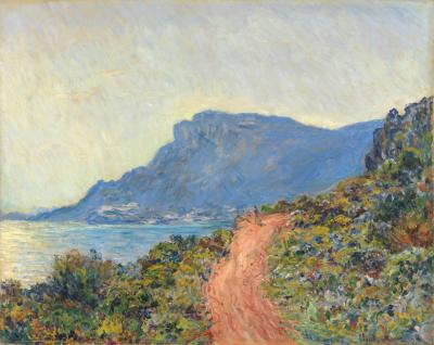 Obraz Claude Monet - La Corniche niedaleko Monaco