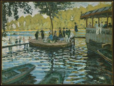Obraz Claude Monet - La Grenouillère