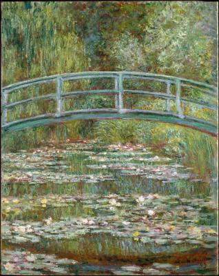 Obraz Claude Monet - Lilie wodne i most japoński