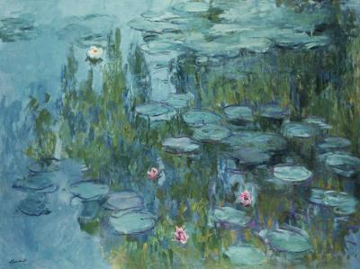 Obraz Claude Monet - Lilie wodne II