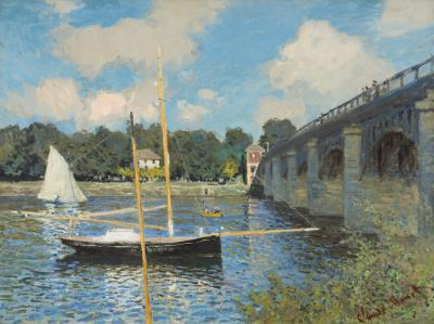 Obraz Claude Monet - Most w Argenteuil