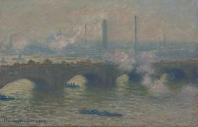 Obraz Claude Monet - Most Waterloo. Wersja I