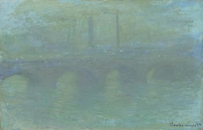 Obraz Claude Monet - Most Waterloo. Wersja II