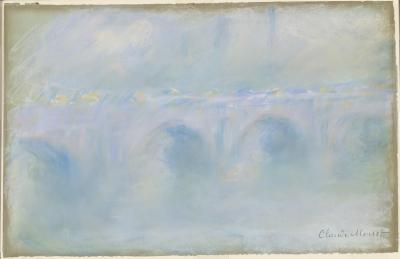 Obraz Claude Monet - Most Waterloo. Wersja III