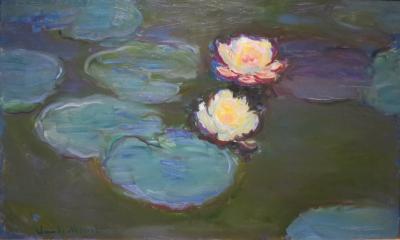 Obraz Claude Monet - Nenufary