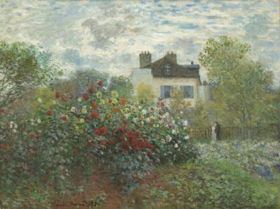 Obraz Claude Monet - Ogród artysty