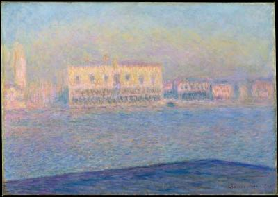 Obraz Claude Monet - Pałac Dożów widziany z Bazyliki San Giorgio Maggiore
