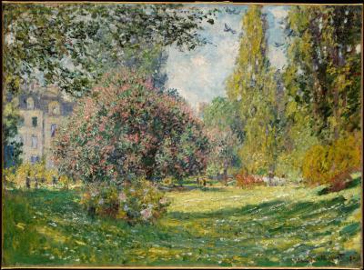 Obraz Claude Monet - Park Monceau