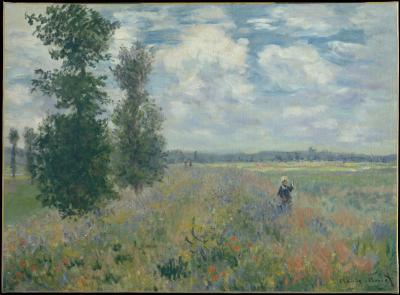 Obraz Claude Monet - Pole maków niedaleko Argenteuil