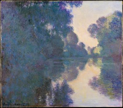 Obraz Claude Monet - Poranek nad Sekwaną