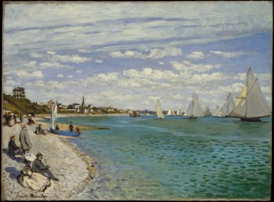 Obraz Claude Monet - Regaty w Saint-Adresse