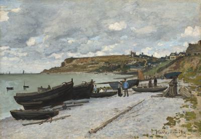 Obraz Claude Monet - Sainte-Adresse