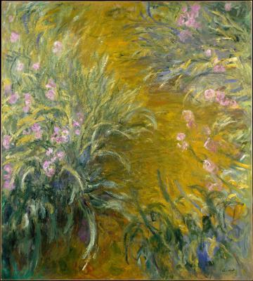 Obraz Claude Monet - Ścieżka przez irysy