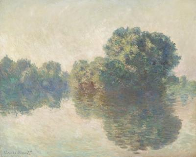 Obraz Claude Monet - Sekwana w pobliżu Giverny