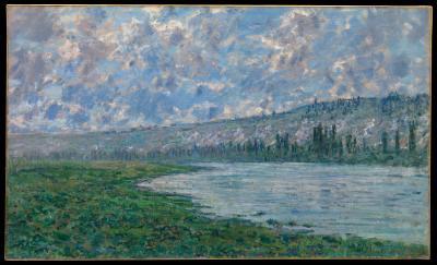 Obraz Claude Monet - Sekwana w Vétheuil